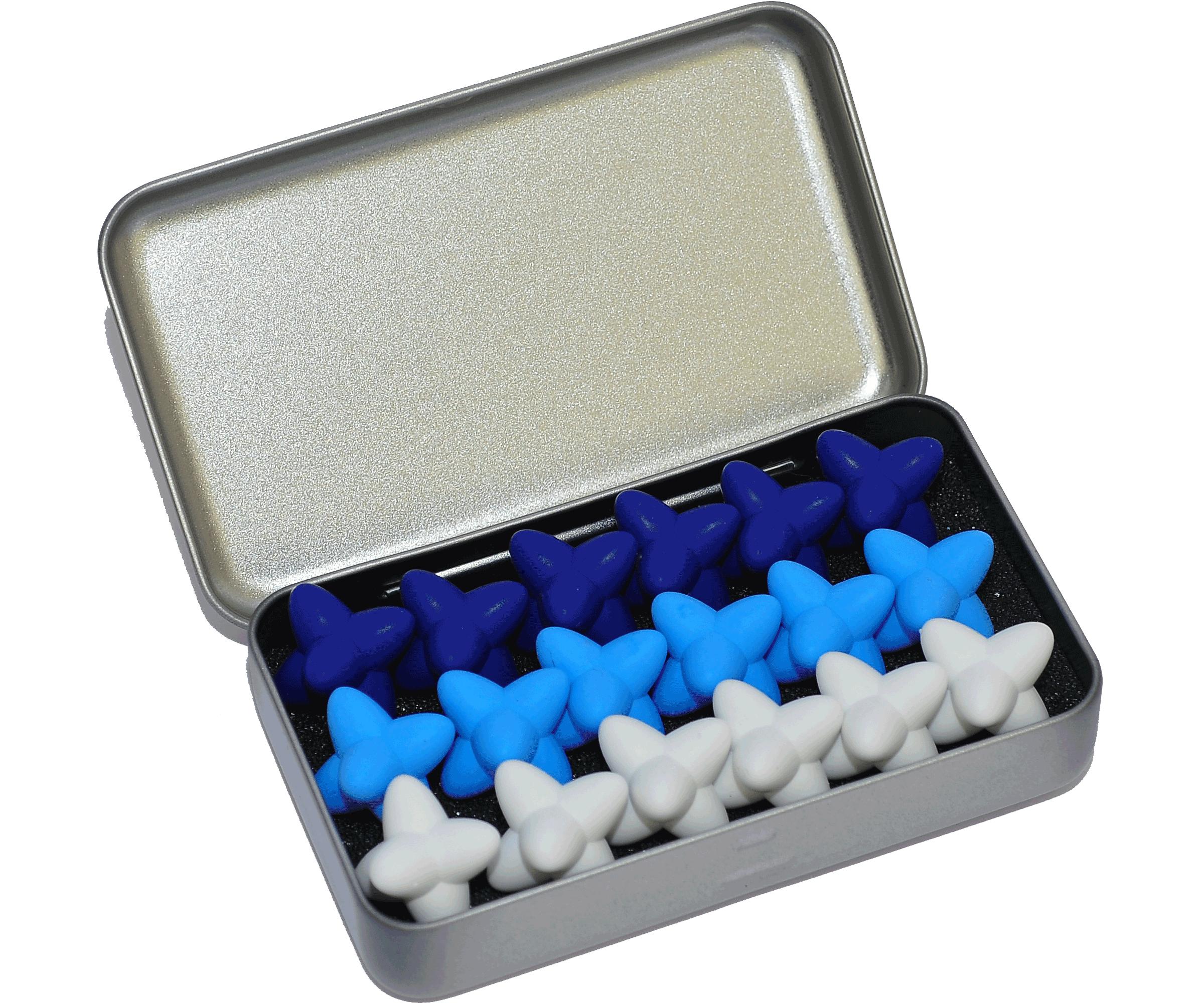 craggles geschenkbox blau
